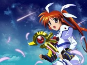 Magical Girl Lyrical Nanoha Strikers Wallpaper