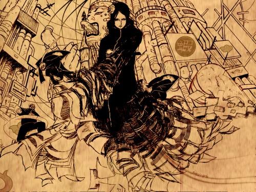 Masashi Kishimoto, Studio Pierrot, Naruto, Nagato, Konan  Wallpaper