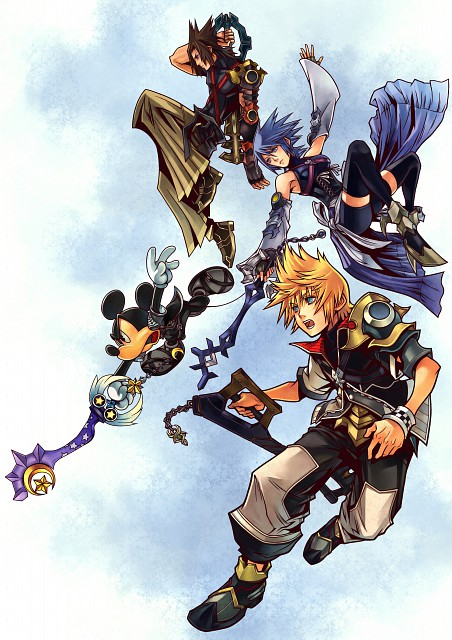Square Enix, Kingdom Hearts, Mickey Mouse, Ventus, Terra
