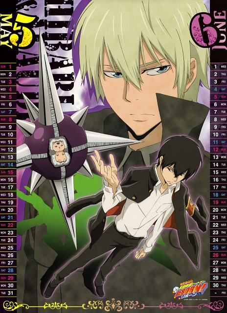 Akira Amano, Artland, Katekyo Hitman Reborn!, Alaude, Roll (Katekyo Hitman Reborn!)