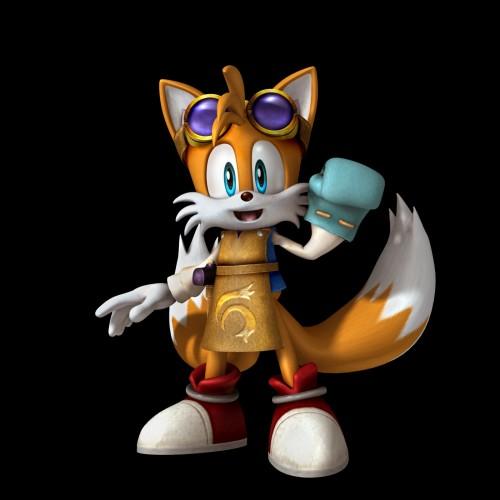 Sega, Sonic the Hedgehog, Miles Prower, Official Digital Art
