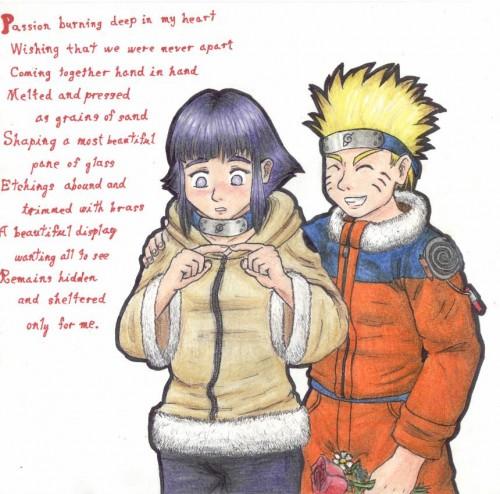 Studio Pierrot, Naruto, Naruto Uzumaki, Hinata Hyuuga, Member Art