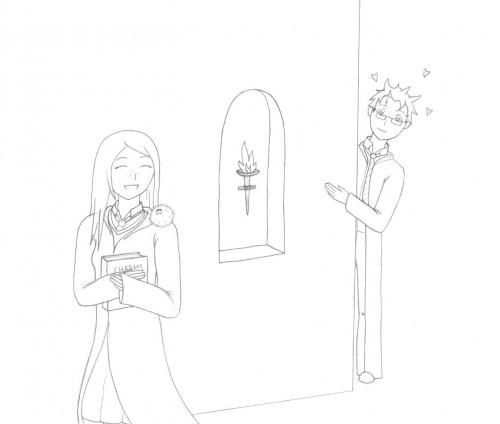 Harry Potter, Harry Potter (Character), Ginny Weasley, Member Art
