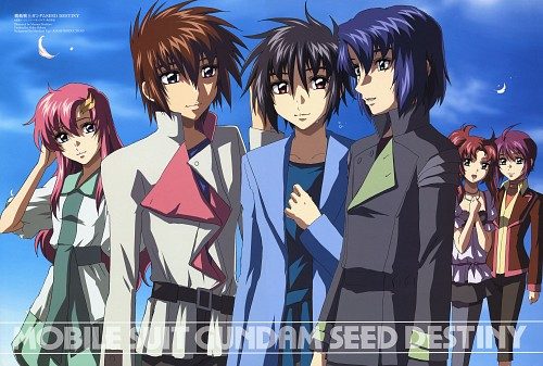 Hisashi Hirai, Sunrise (Studio), Mobile Suit Gundam SEED Destiny, Meyrin Hawke, Lunamaria Hawke