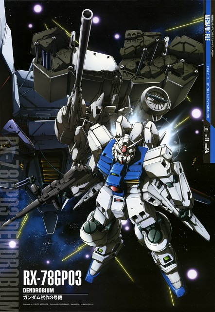 Sunrise (Studio), Mobile Suit Gundam - Universal Century, Mobile Suit Gundam 0083, Gundam Perfect Files