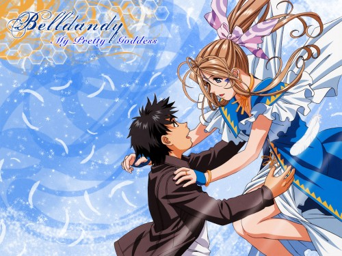Kousuke Fujishima, Anime International Company, Ah! Megami-sama, Keiichi Morisato, Belldandy Wallpaper