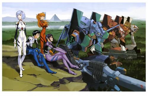 Takeshi Honda, Yoshiyuki Sadamoto, Gainax, Khara, Neon Genesis Evangelion