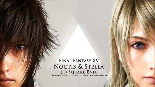 Final Fantasy XV, Final Fantasy XIII, Stella Nox Fleuret, Noctis Lucis Caelum Wallpaper