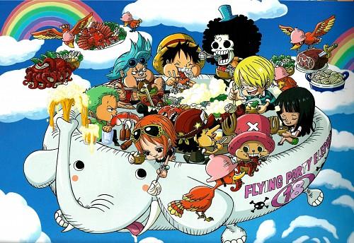 Eiichiro Oda, Toei Animation, One Piece, Usopp, Brook