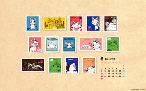 Kanata Konami, Madhouse, Chi's Sweet Home, Chi (Chi's Sweet Home), Calendar