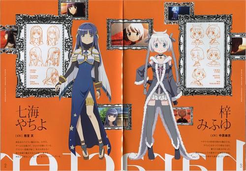 Shaft (Studio), Magia Record, Mifuyu Azusa, Yachiyo Nanami, Character Sheet
