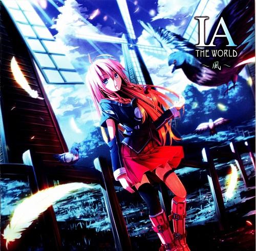 ryosios, Vocaloid, IA, Album Cover