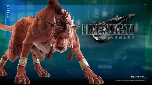 Square Enix, Final Fantasy VII, Red XIII, Official Wallpaper