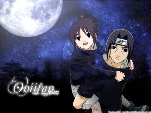 Masashi Kishimoto, Studio Pierrot, Naruto, Itachi Uchiha, Sasuke Uchiha Wallpaper