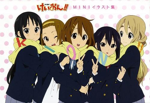 Kyoto Animation, K-On!, K-On! Mini Illustration Book, Yui Hirasawa, Mio Akiyama