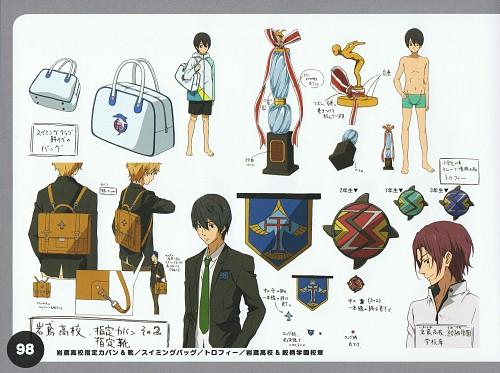Kyoto Animation, Free!, Haruka Nanase (Free!), Nagisa Hazuki, Rin Matsuoka