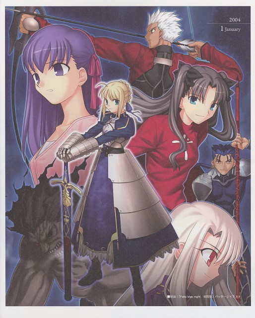 Takashi Takeuchi, TYPE-MOON, Fate/Art Chronicle, Fate/stay night, Rin Tohsaka
