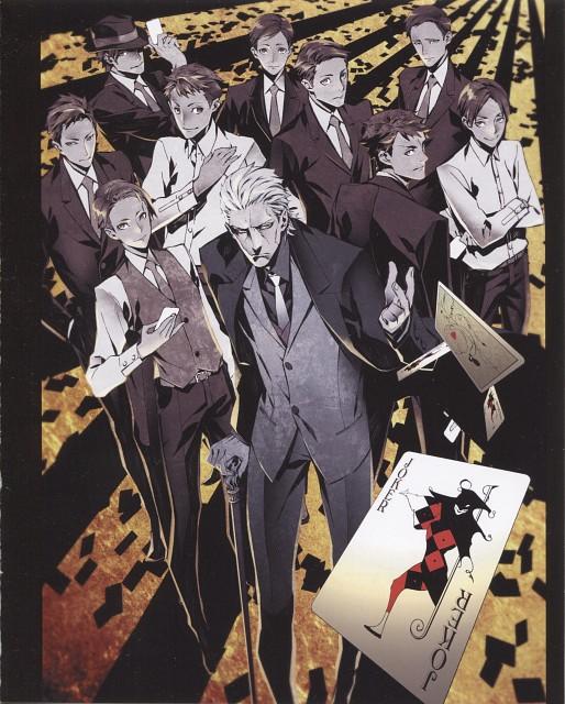 Miwa Shirow, Production I.G, Joker Game, Hatano, Sakuma