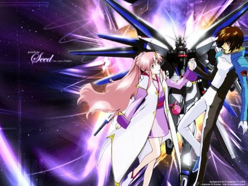 Sunrise (Studio), Mobile Suit Gundam SEED, Haro, Kira Yamato, Lacus Clyne Wallpaper