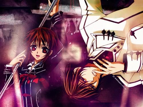 Matsuri Hino, Studio Deen, Vampire Knight, Yuuki Cross, Kaname Kuran Wallpaper
