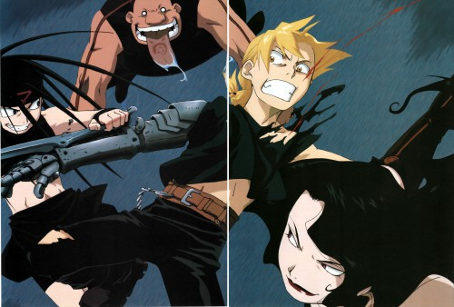 Hiromu Arakawa, BONES, Fullmetal Alchemist, Envy, Edward Elric
