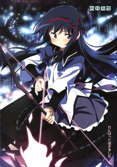Kuuchuu Yousai, Shaft (Studio), Puella Magi Madoka Magica, Mahou Shoujo Madoka Magica Special Fan Book, Homura Akemi