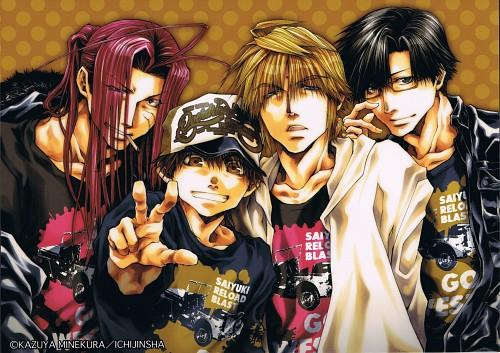 Kazuya Minekura, Studio Pierrot, Saiyuki, Cho Hakkai, Sha Gojyo