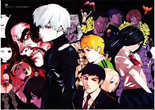 Sui Ishida, Tokyo Ghoul, Tokyo Ghoul [zakki], Ken Kaneki, Akira Mado