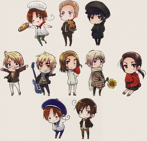Hidekaz Himaruya, Studio DEEN, Hetalia: Axis Powers, Artestella, Japan