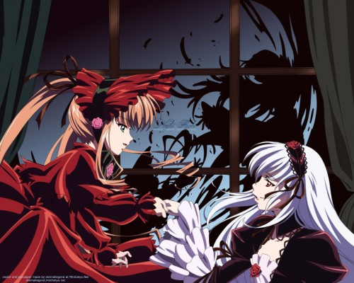Peach-Pit, Studio Nomad, Rozen Maiden, Shinku, Suigintou Wallpaper