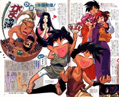 Keiji Gotoh, Xebec, Bakuretsu Hunters, Tira Misu, Carrot Glace