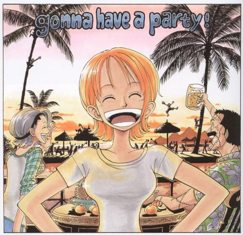 Eiichiro Oda, One Piece, Color Walk 2, Nami, Sanji