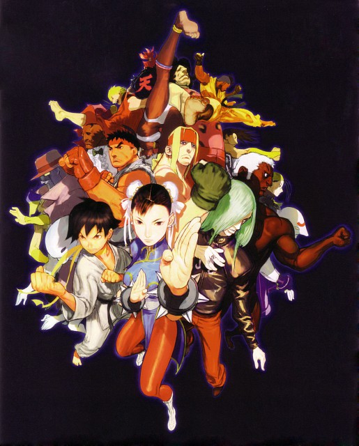 Capcom, Street Fighter 20th Anniversary Artworks, Street Fighter, Makoto, Yun Lee