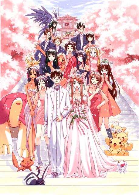 Ken Akamatsu, Love Hina, Mitsune Konno, Seta Noriyasu, Tama-chan (Love Hina)