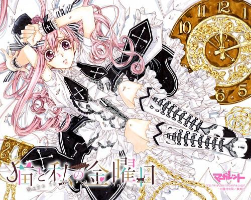 Arina Tanemura, Neko to Watashi no Kinyoubi, Ai Tachibana (Neko to Watashi no Kinyoubi), Official Wallpaper