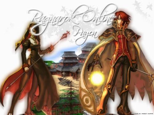 Ragnarok Online, Wizard (Ragnarok Online), Priestess (Ragnarok Online) Wallpaper