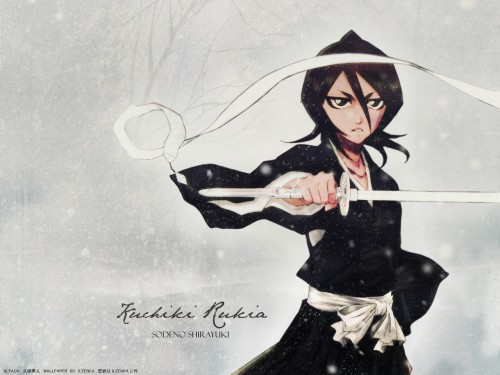 Kubo Tite, Bleach, Rukia Kuchiki Wallpaper
