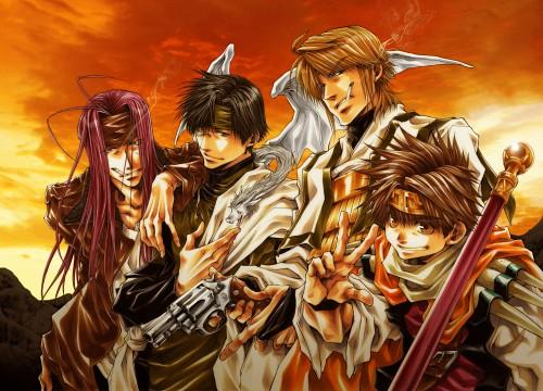 Kazuya Minekura, Saiyuki, Soul & Pepper, Cho Hakkai, Sha Gojyo