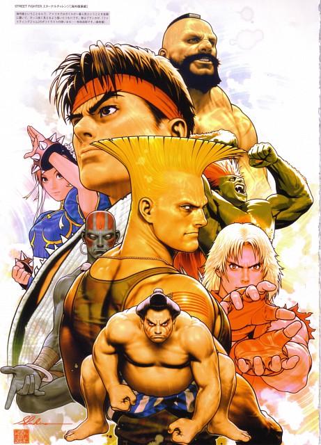 Shinkiro, Capcom, Street Fighter 20th Anniversary Artworks, Street Fighter, Zangief