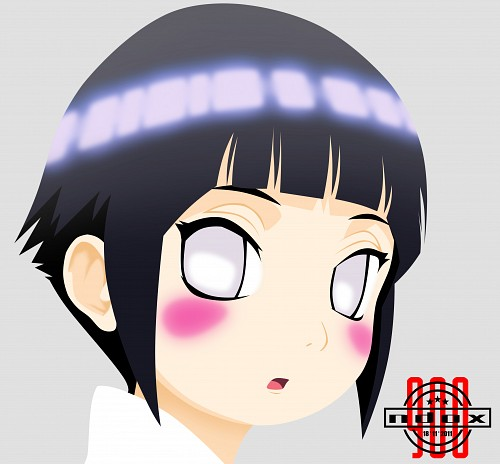 Naruto, Hinata Hyuuga, Vector Art