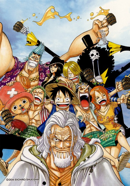 Eiichiro Oda, Toei Animation, One Piece, Silvers Rayleigh, Tony Tony Chopper