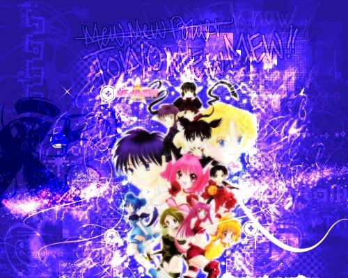 Mia Ikumi, Tokyo Mew Mew, Zakuro Fujiwara, Quiche, Pudding Fong Wallpaper