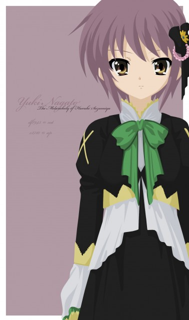 Kyoto Animation, The Melancholy of Suzumiya Haruhi, Yuki Nagato, Vector Art