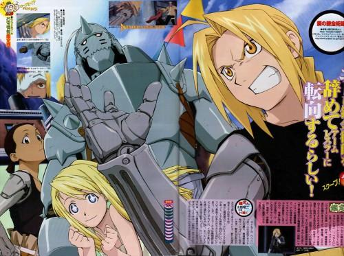 Hiromu Arakawa, BONES, Fullmetal Alchemist, Winry Rockbell, Alphonse Elric