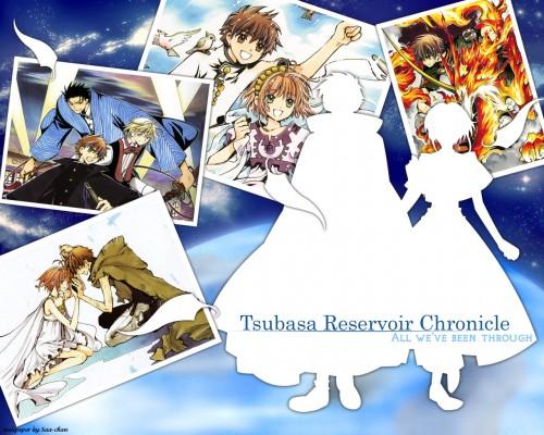 CLAMP, Bee Train, Tsubasa Reservoir Chronicle, Kurogane, Fay D. Flourite Wallpaper