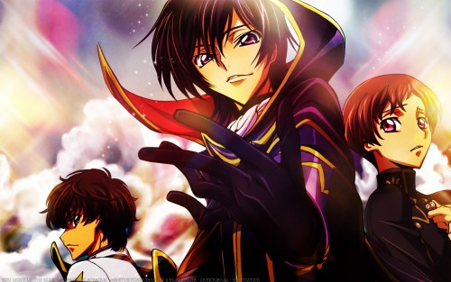 Takahiro Kimura, Sunrise (Studio), Lelouch of the Rebellion, Rolo Lamperouge, Lelouch Lamperouge Wallpaper