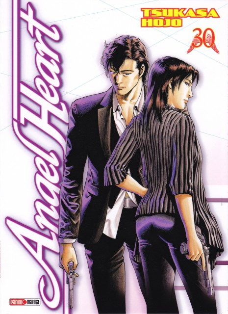 Tsukasa Hojo, Angel Heart, Xiang Ying Li, Ryo Saeba, Manga Cover
