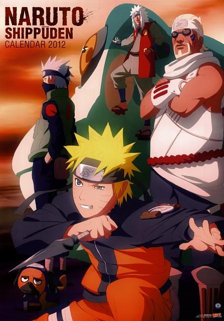 Studio Pierrot, Naruto, Killer Bee, Naruto Uzumaki, Pakkun