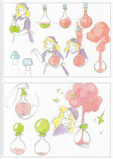 Hayao Miyazaki, Studio Ghibli, Kiki's Delivery Service, The Art of Kiki's Delivery Service, Kokiri Okino