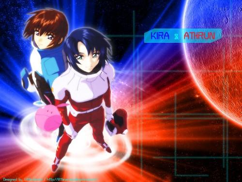 Sunrise (Studio), Mobile Suit Gundam SEED, Haro, Kira Yamato, Athrun Zala Wallpaper